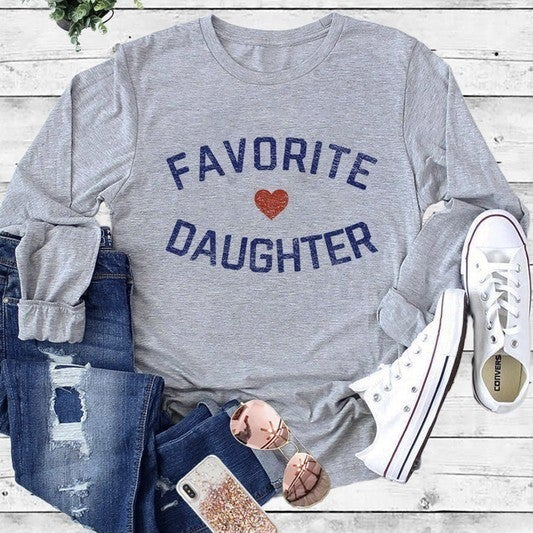 Favorite Daughter Long Sleeve- only SM *Final Sale*