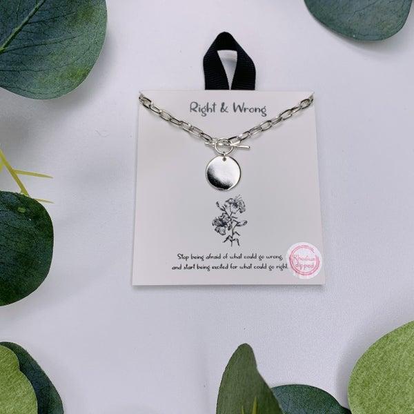 Stronger Than Ever Necklace - Silver