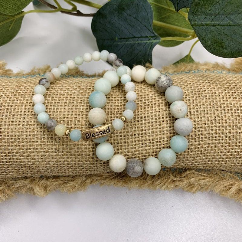 Be Blessed Bracelet Set *Final Sale*