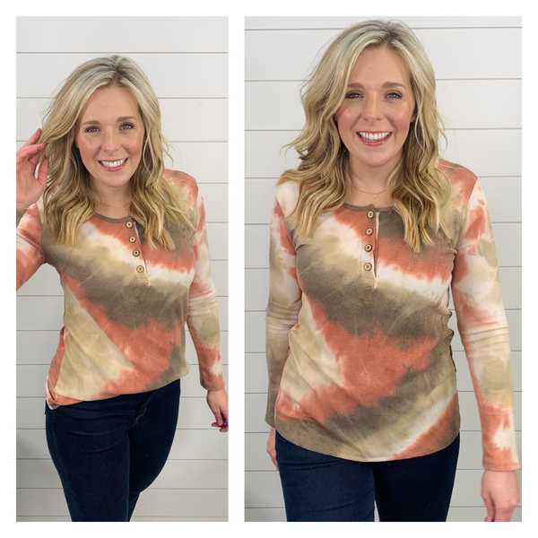 Time for Tie-Dye Top *Final Sale*