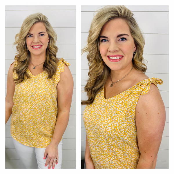 Lily of the Valley Top - Sunshine Yellow