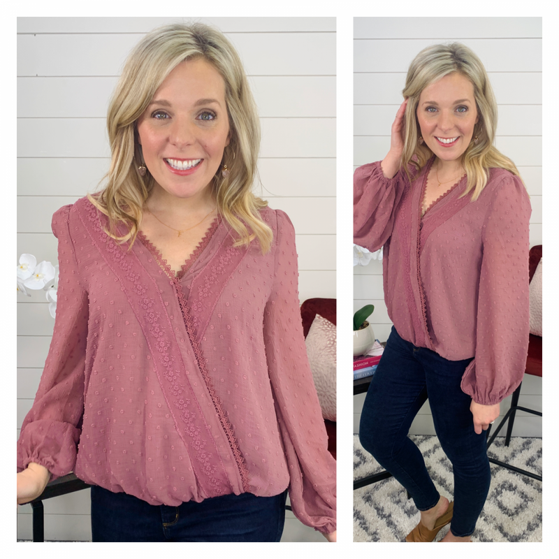 Pretty In Pink Top- only LG *Final Sale*