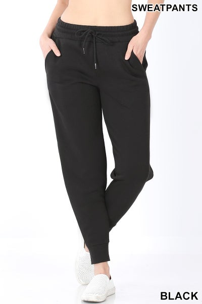 Right This Way Jogger Sweatpants - Black
