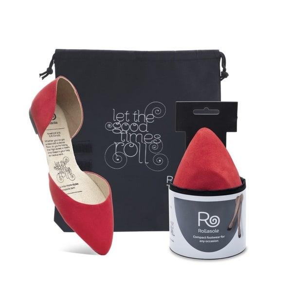 Vixen Compact Shoes - Red