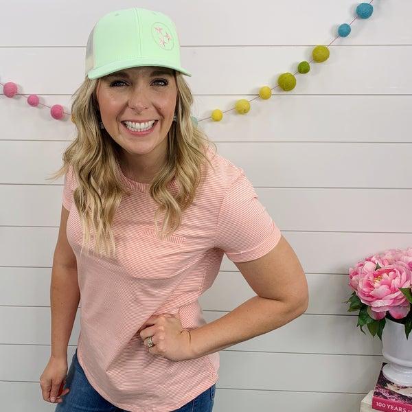 Tristar Hat- Kiwi