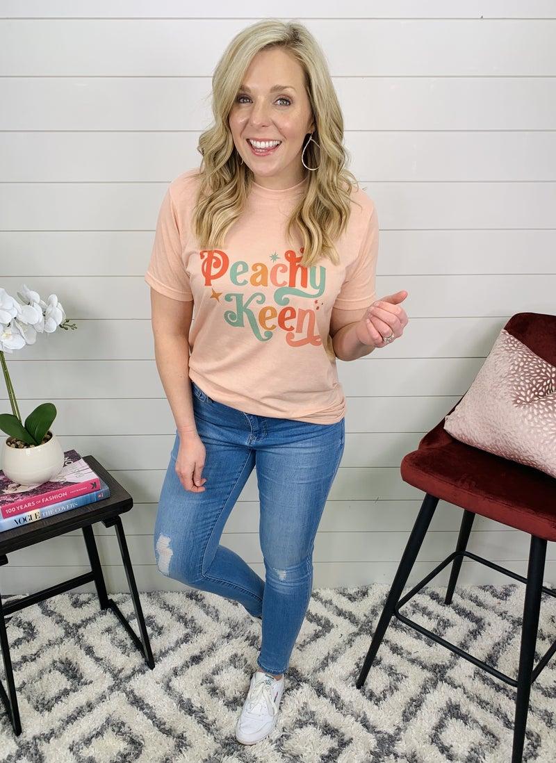 Peachy Keen T-Shirt *Final Sale*