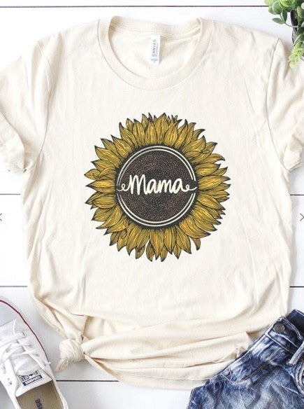 Sunflower Mama T-Shirt