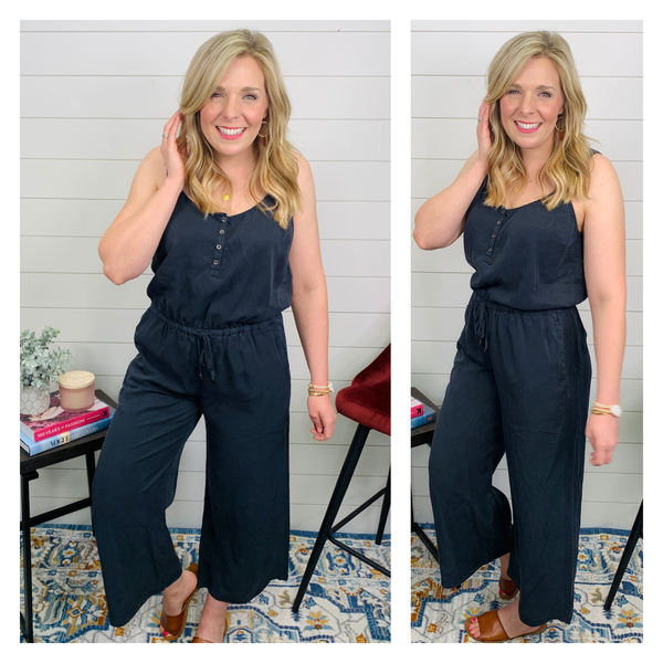 Charcoal Cloud Jumpsuit