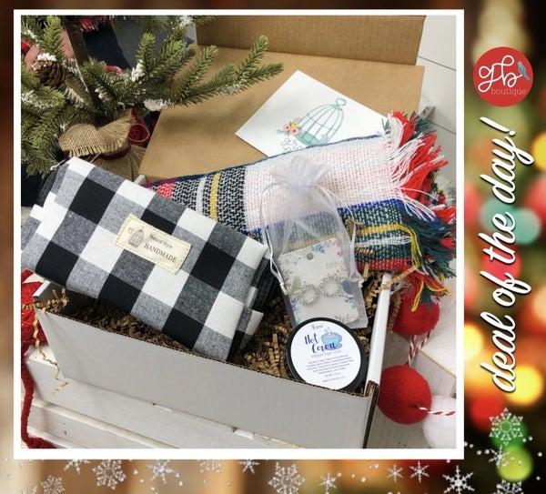 Gray Bird Gift Box