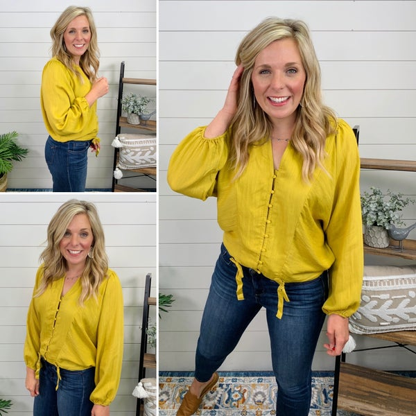 Sunny Days Top *Final Sale*- only LG
