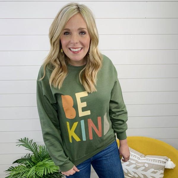 Be Kind Sweatshirt- Back in STOCK!