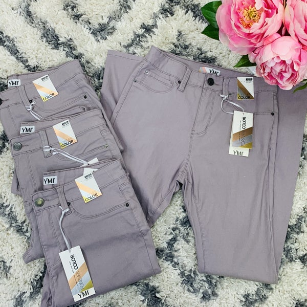 Secret's Out Skinny Jeans - Lilac