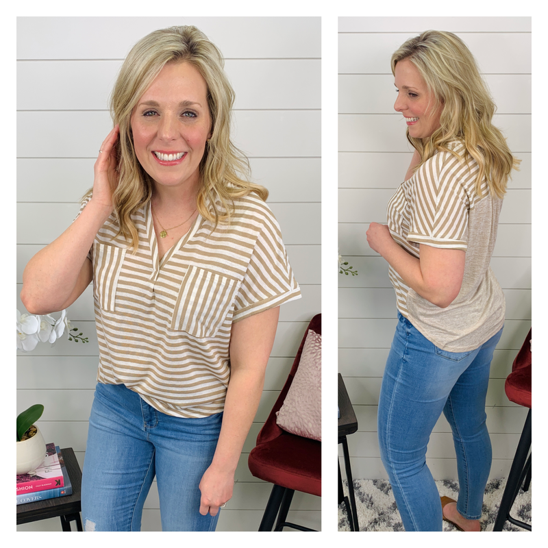 Shannon Striped Top