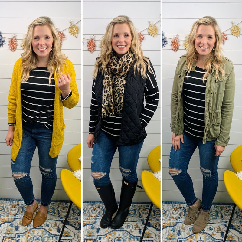 Brittany Striped Top