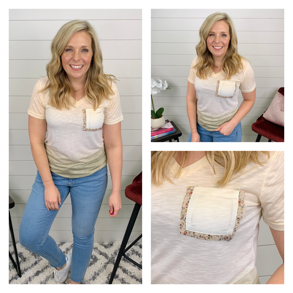 Peaches and Cream Top *Final Sale*
