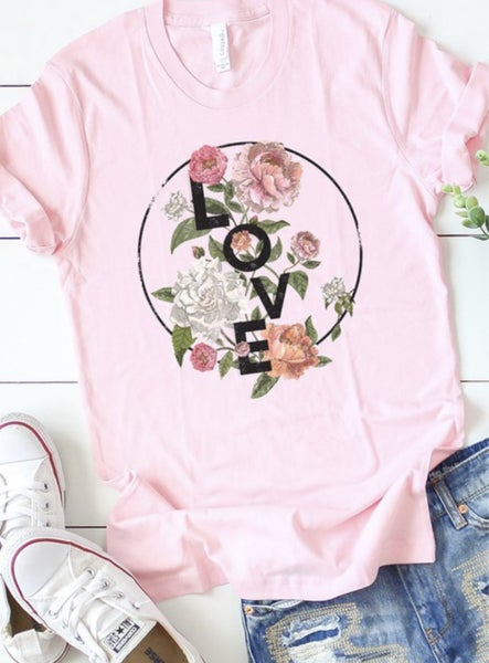 Love & Flowers T-Shirt