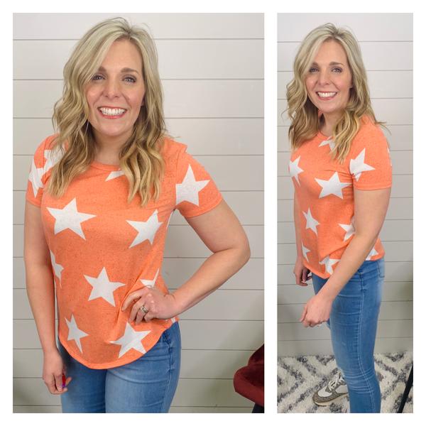 Creamsicle Star Shirt