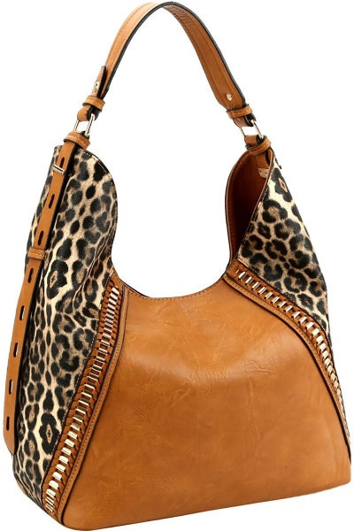 Leopard Purse Large