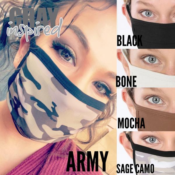 Cotton Breathable Face Mask *Final Sale*