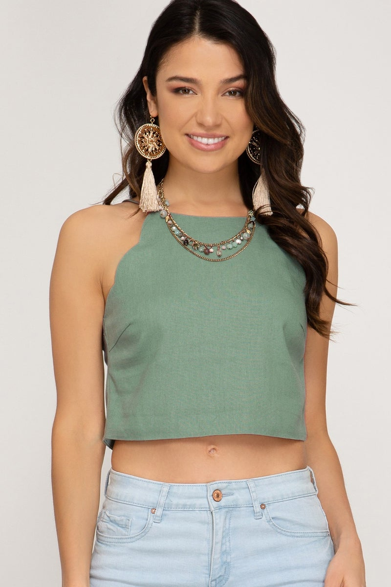 Hallie Cropped Top
