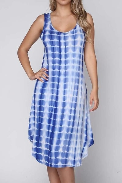 Tie Dye Swing Dress *Final Sale*