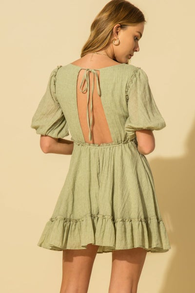 All The Details Plunge Dress