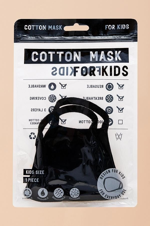 Childrens Mask in Black