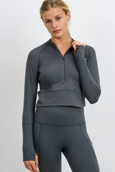 Shaelyn Cropped Pullover