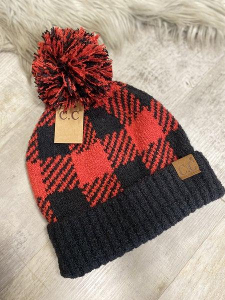 Buffalo Plaid CC Hat
