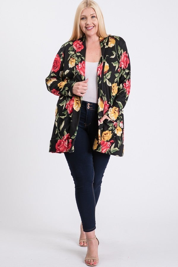 Danielle Curvy Cardigan *Final Sale*