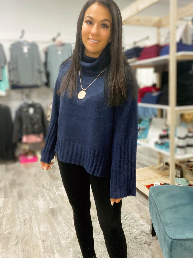 Teasha Turtleneck Sweater