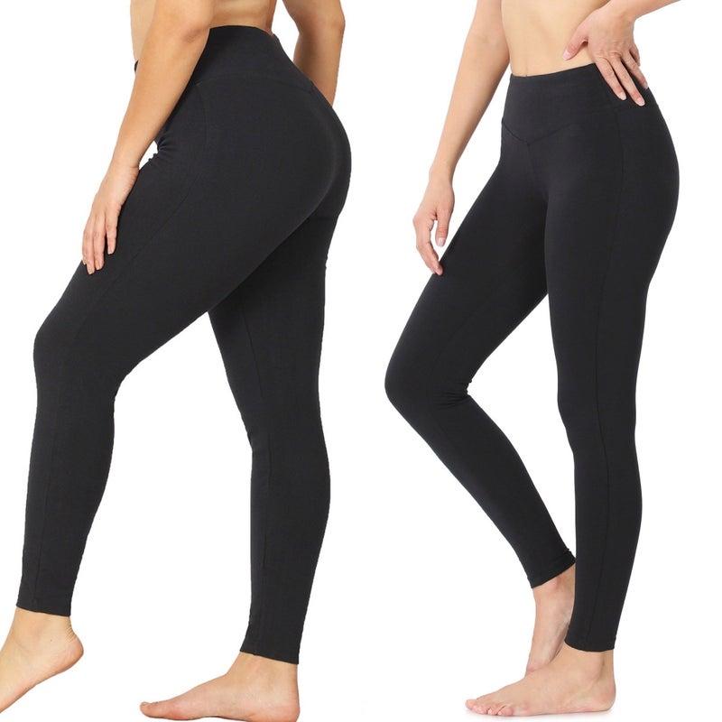 Everyday Black Legging in all sizes