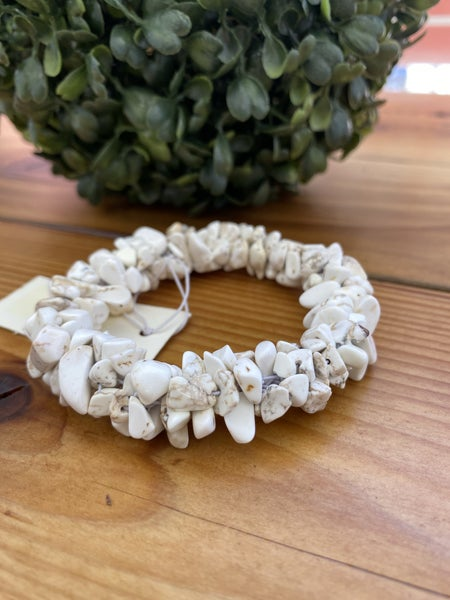 White Rock Stretch Bracelet