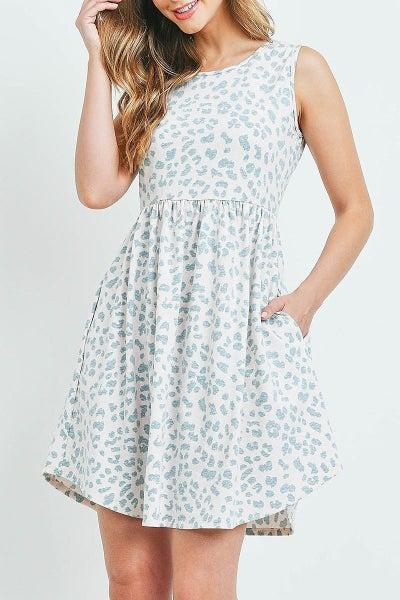 Leopard Pocket Dress (2 Colors)