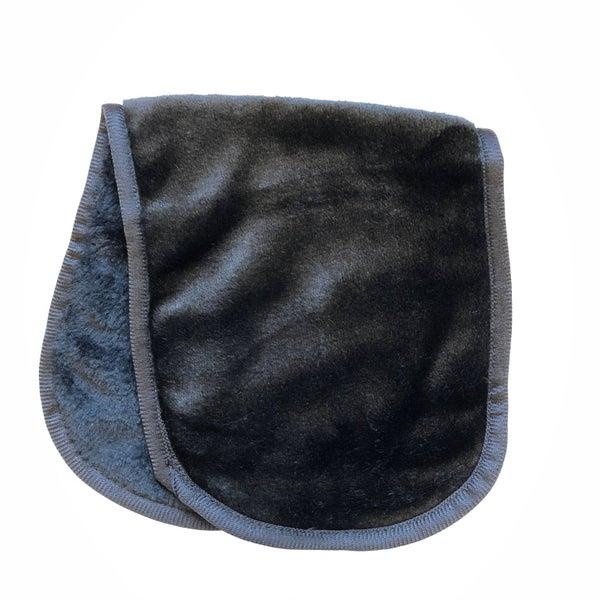 Microfiber Make-up Remover Cloth-Black