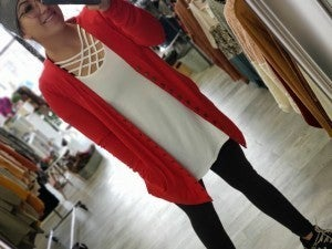 Criss Cross Top (multiple colors, all sizes)