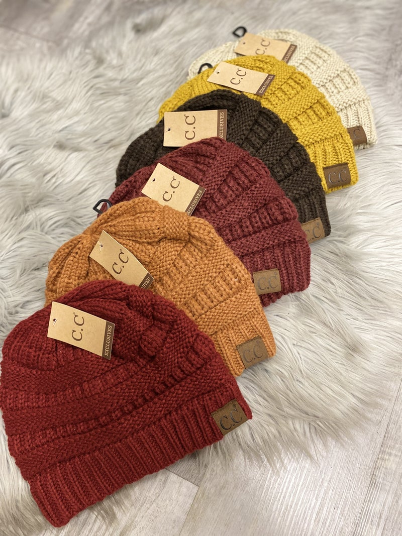 Basic CC Beanie(multiple colors)