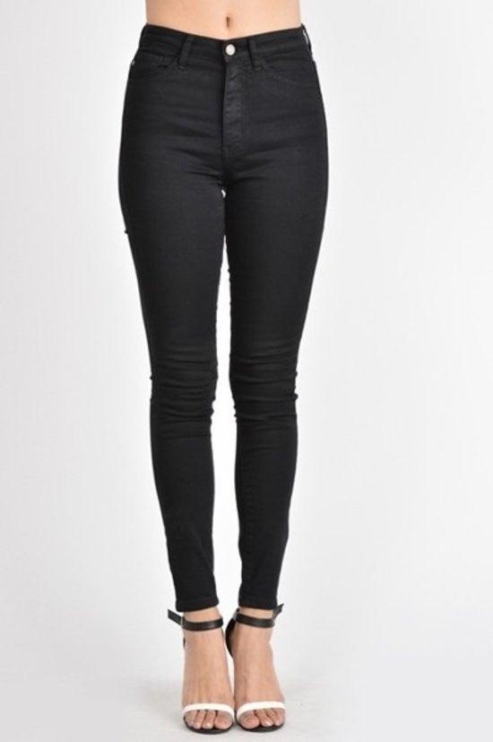 Black Skinny Jean by KanCan