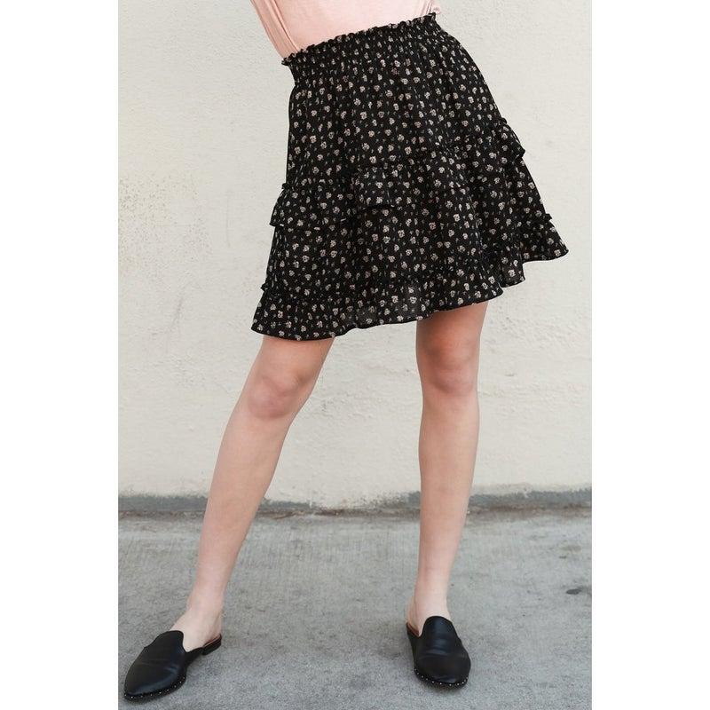 Alexis Smocked Skirt