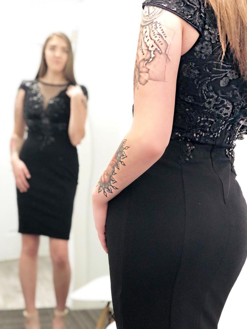 The Details Black Dress *Final Sale*