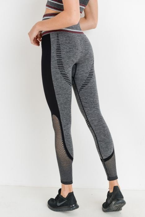 Heather Legging or Sports Bra by Mono B (Set Available)