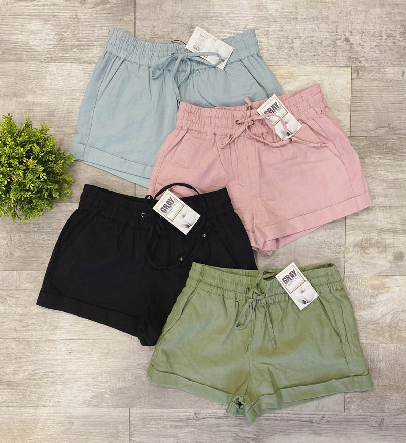 Linen Shorts all Sizes and Multiple Colors