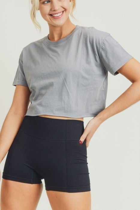 Crop Top (multiple colors) by Mono B
