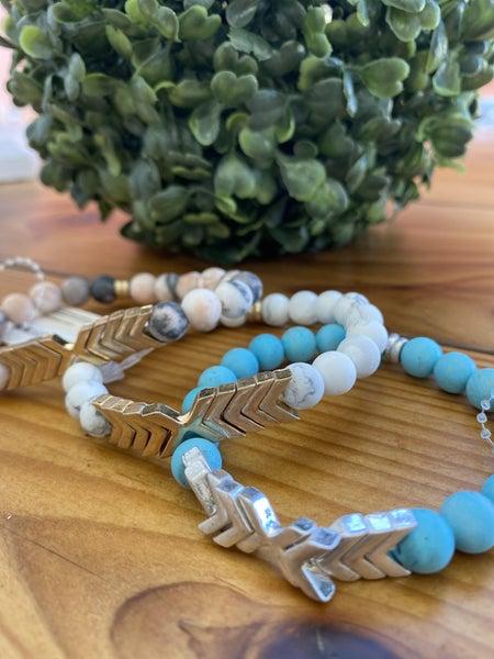 Arrow Stone Bracelet