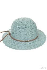 Lace CC kids hat