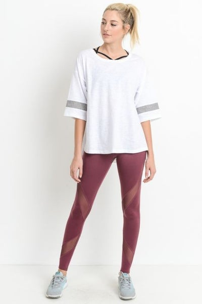 Oversized Lightweight Tee by Mind Body