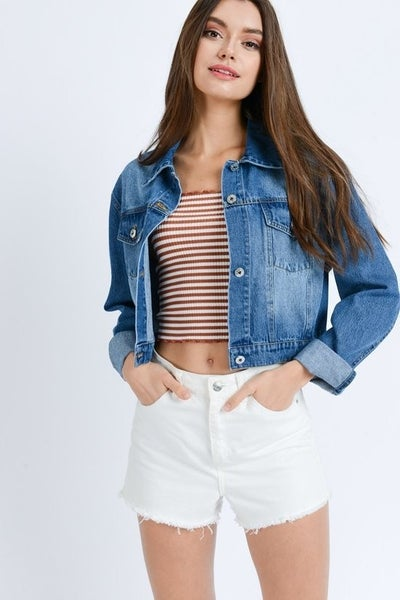 You need this Jean Jacket