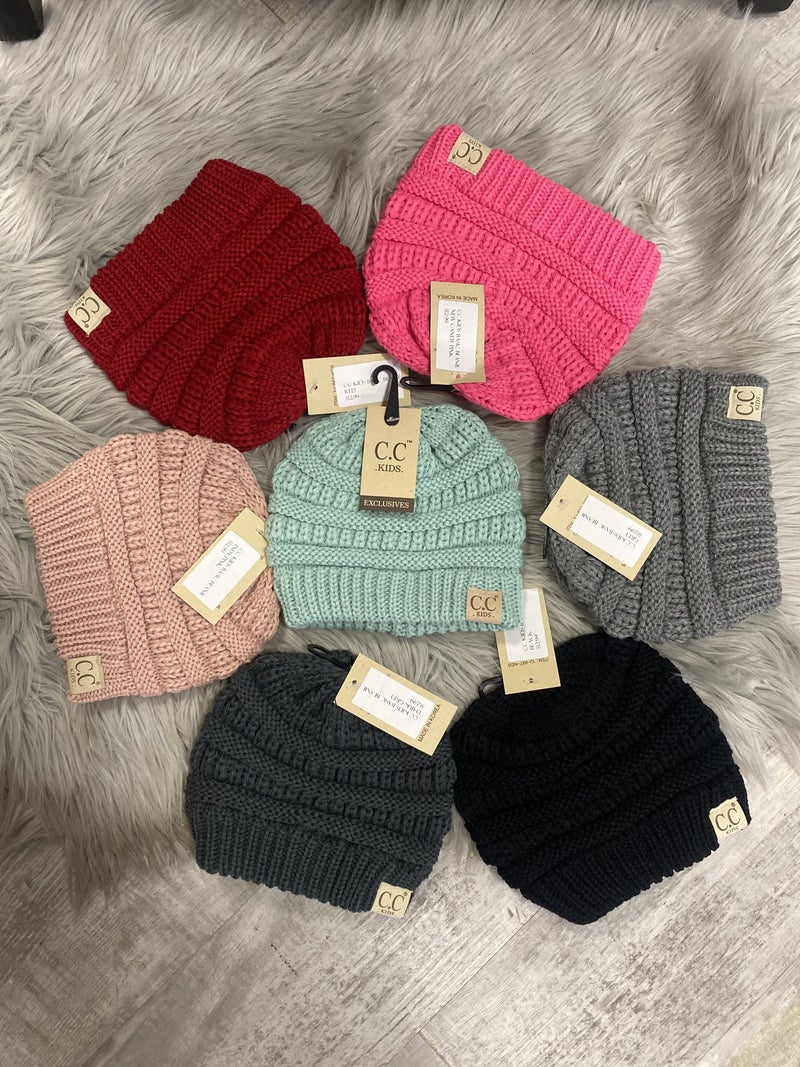 CC Kids Basic Beanie (multiple colors)