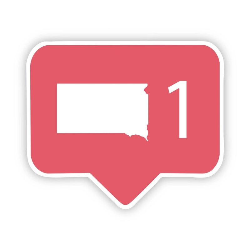 South Dakota Comment Sticker