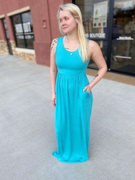 Alyssa Maxi Dress in Mint